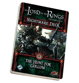 Fantasy Flight LORD OF THE RINGS LCG: NIGHTMARE DECK - THE HUNT FOR GOLLUM