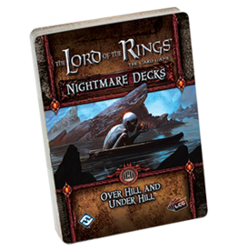 Fantasy Flight LORD OF THE RINGS LCG: NIGHTMARE DECK - OVER HILL AND UNDER HILL