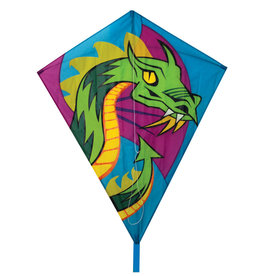 "Skydog Kites 40"" Dragon Diamond Kite"