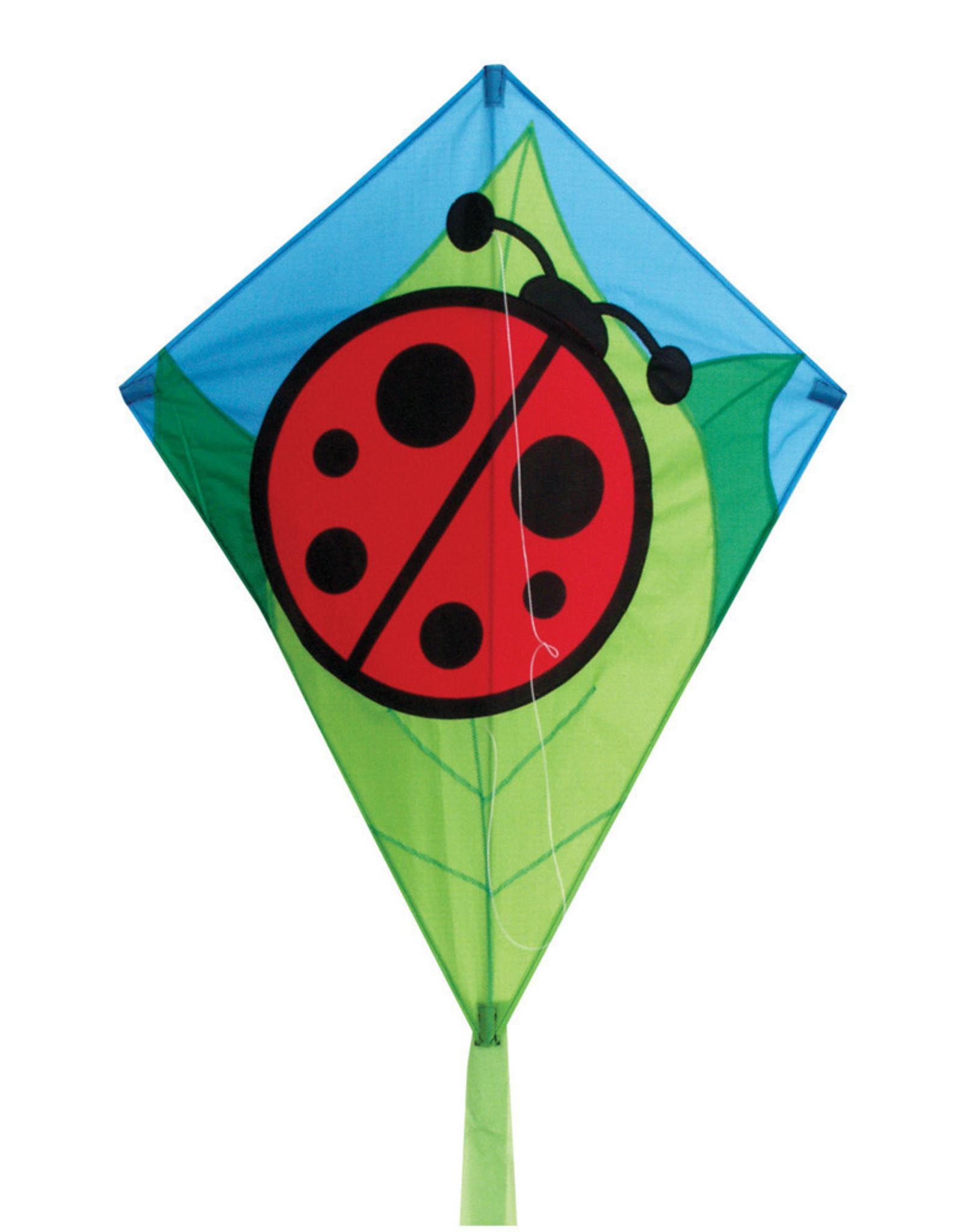 Skydog Kites 26'' LADY BUG DIAMOND KITE