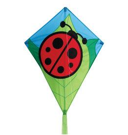 """Skydog Kites 26"""" Lady Bug Diamond Kite"""