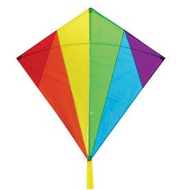 """Skydog Kites 32"""" Rainbow Diamond Kite"""