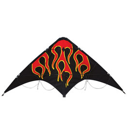 Skydog Kites Learn to Fly Flames Stunt Kite