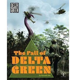 Pelgrane Press THE FALL OF DELTA GREEN HC RPG