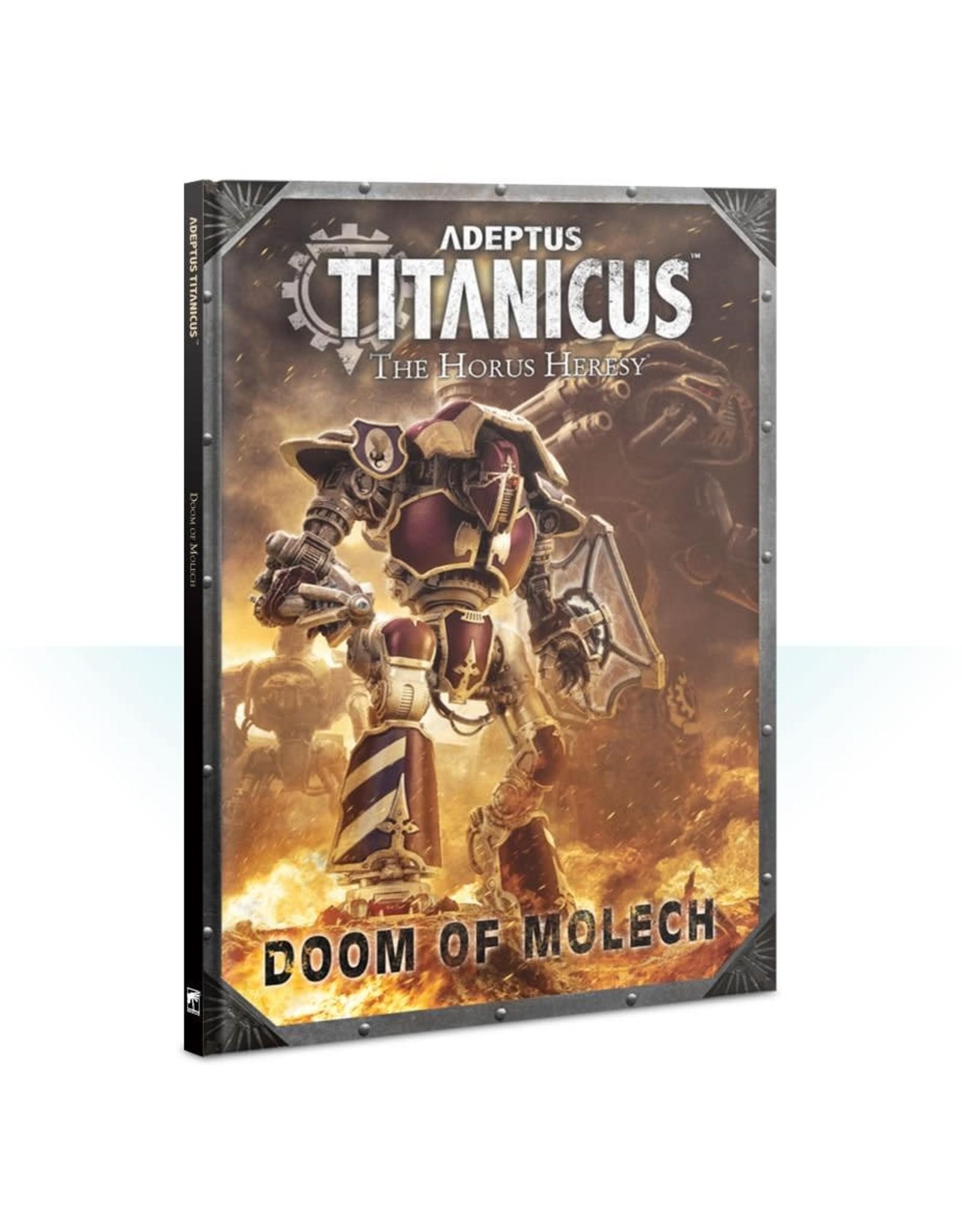 Games Workshop ADEPTUS TITANICUS: DOOM OF MOLECH
