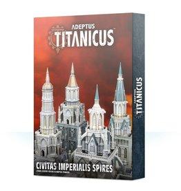 Games Workshop ADEPTUS TITANICUS: CIVITAS IMPERIALIS SPIRES