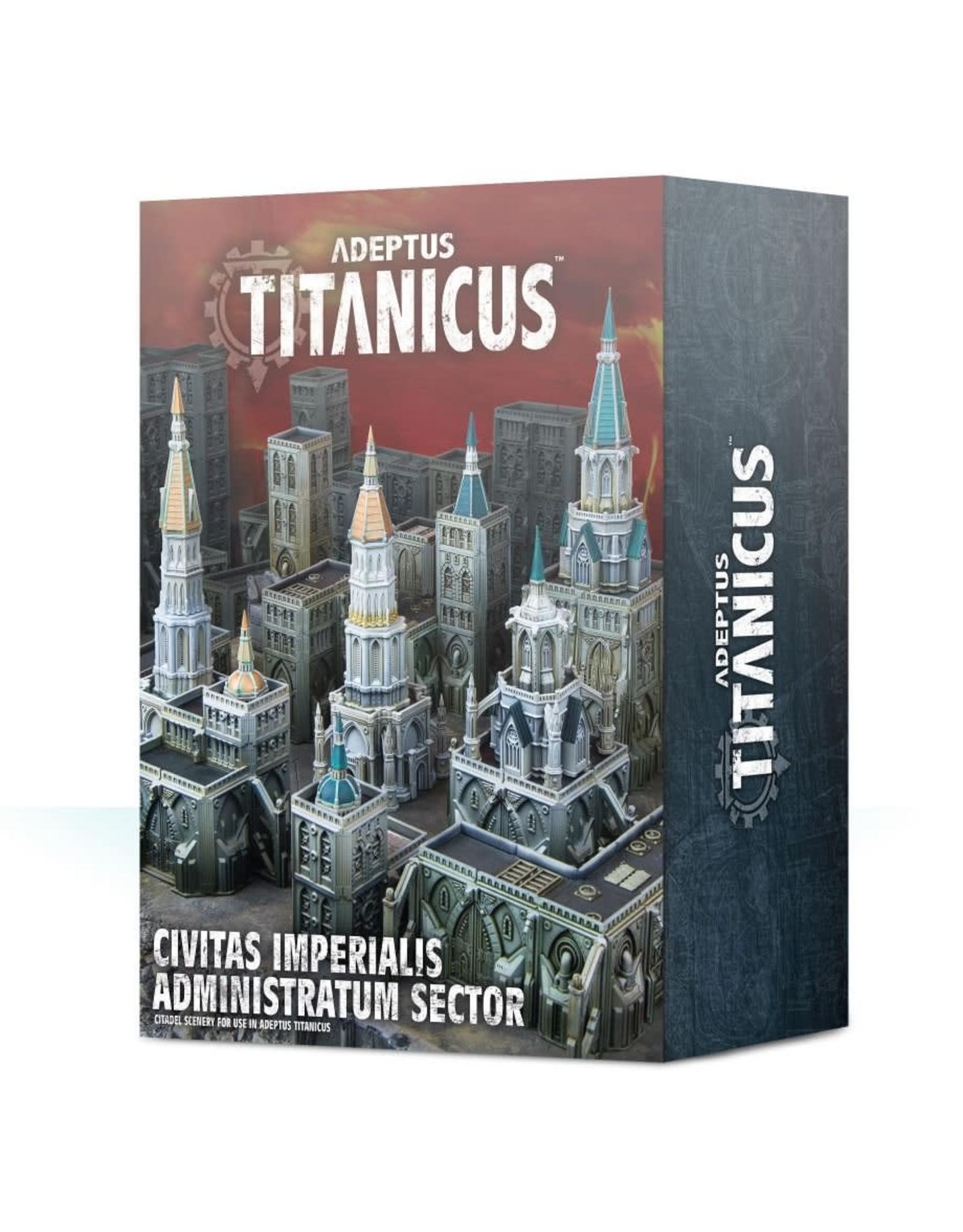 Games Workshop ADEPTUS TITANICUS: CIVITAS IMPERIALIS ADMINISTRATUM SECTOR
