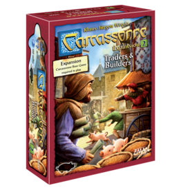 Z-MAN GAMES CARCASSONNE 2.0: TRADERS & BUILDERS - EXP #2