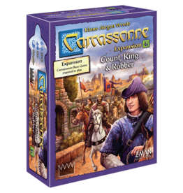 Z-MAN GAMES CARCASSONNE 2.0: COUNT, KING & ROBBER