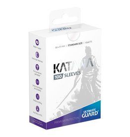 Ultimate Guard Sleeves: Katana Standard Transparent 66x91mm 100ct