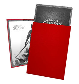Ultimate Guard Sleeves: Katana Standard Red 66x91mm 100ct