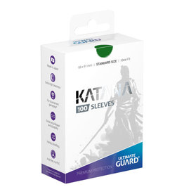 Ultimate Guard Sleeves: Katana Standard Green 66x91mm 100ct