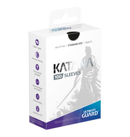 Ultimate Guard Sleeves: Katana Standard Black 66x91mm 100ct