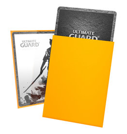 Ultimate Guard Sleeves: Katana Standard Yellow 66x91mm 100ct