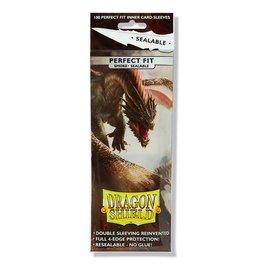 Dragon Shield DRAGON SHIELD SLEEVES PERFECT FIT SEALABLE SMOKE