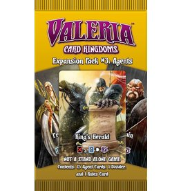Daily Magic Games Valeria Card Kingdoms: Expansion #3 Agents