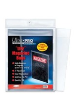 "Ultra Pro Sleeve: Magazine Bags 11-1/8"" X 15-1/8"" 100ct"