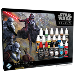 Fantasy Flight Games Star Wars Legion: Core Paint Set