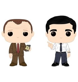 Funko POP! TV THE OFFICE - TOBY VS MICHAEL 2PK