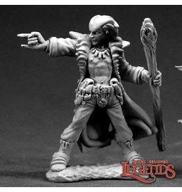 Reaper Mini Legends: Damien, Hellborn Wizard