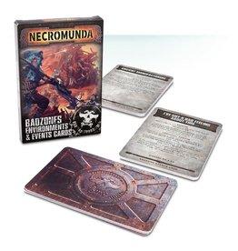 Games Workshop NECROMUNDA: BADZONES ENVIRONMENTS EVENT CARDS (STREET DATE JUN 1)