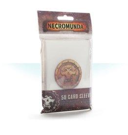 Games Workshop NECROMUNDA CARD SLEEVES (STREET DATE JUN 1)