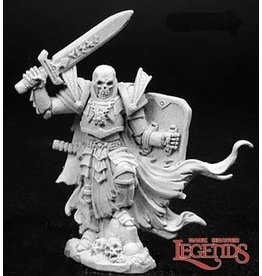 Reaper Mini LEGENDS: ARRIUS THE BLACK, SKELETAL CHAMPION