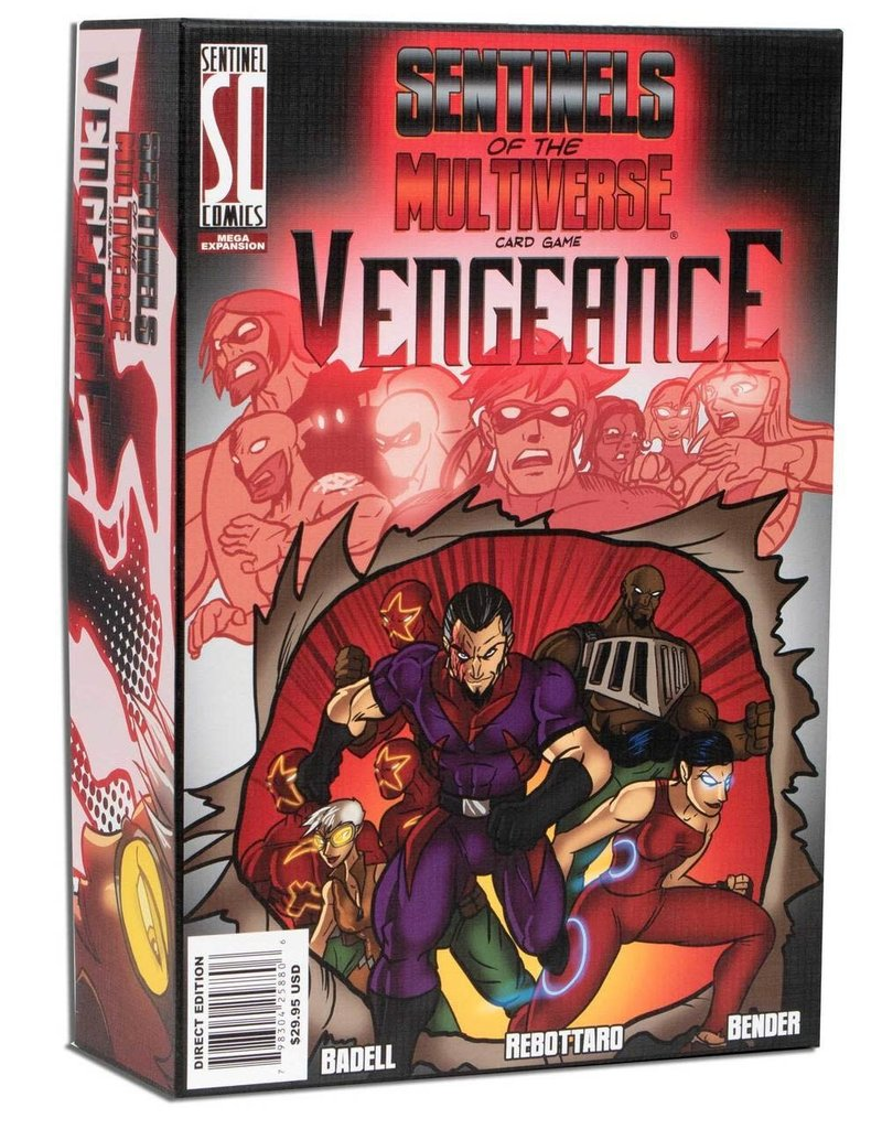 Greater Than Games Sentinels of the Multiverse: Vengeance Expansion
