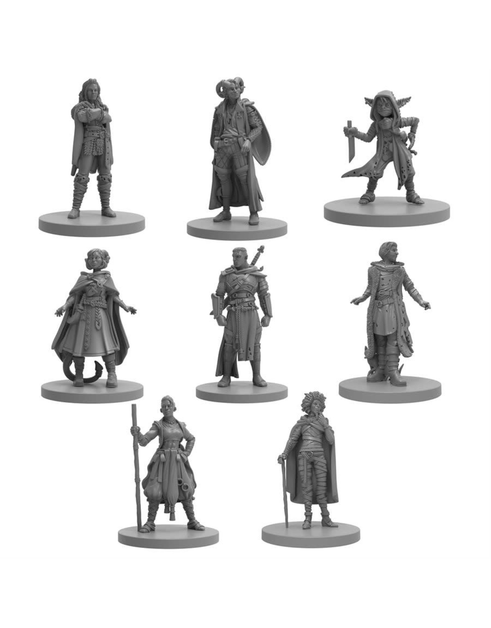 Steamforged Games CRITICAL ROLE: MIGHTY NEIN MINIS