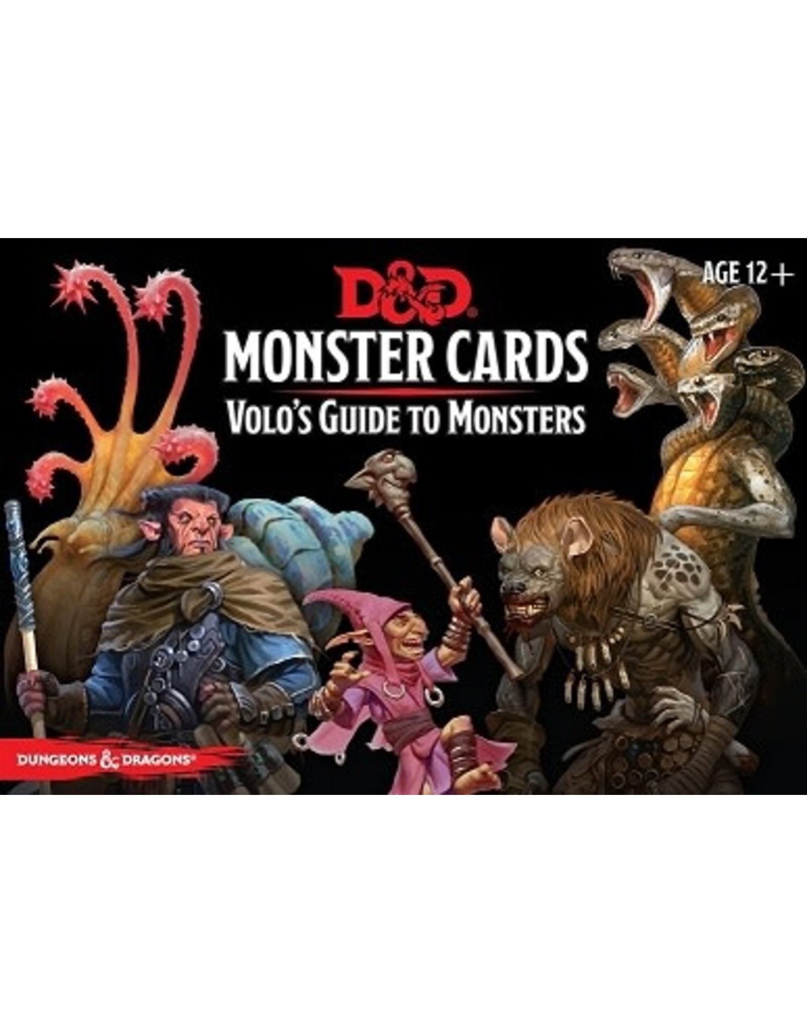 Gale Force Nine D&D 5E: VOLOS GUIDE TO MONSTERS MONSTER CARDS
