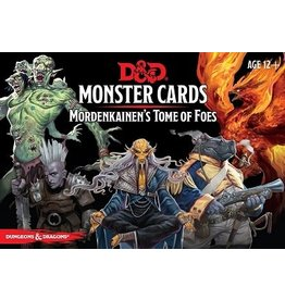 Gale Force Nine D&D 5E: MORDENKAINEN'S TOME OF FOES MONSTER CARDS