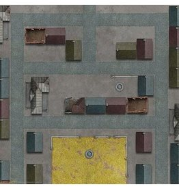 Tanks: Caen Game Mat 36x36