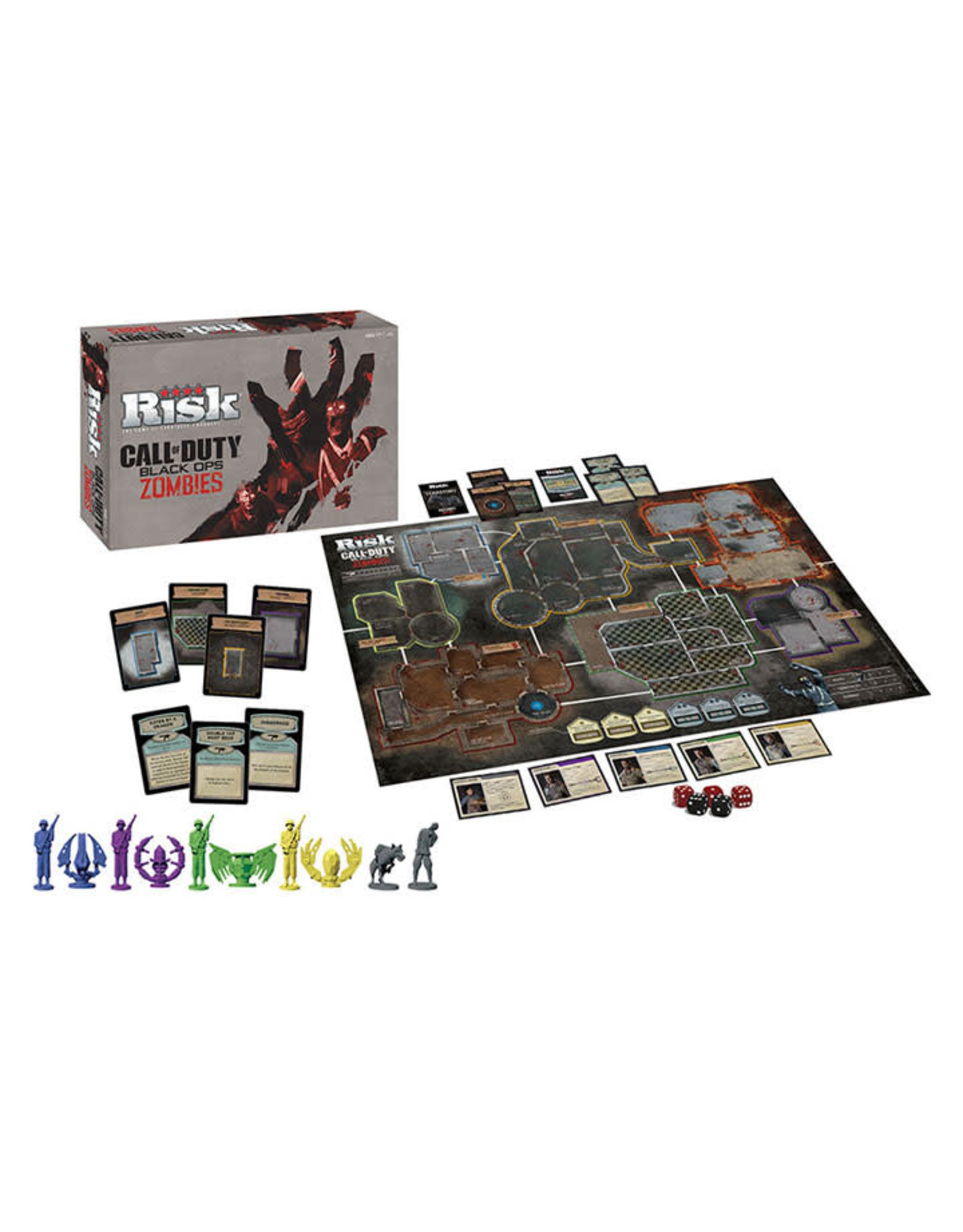 USAopoly RISK: CALL OF DUTY BLACK OPS ZOMBIES