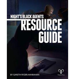 Pelgrane Press NIGHT'S BLACK AGENTS: DIRECTOR'S SCREEN & RESOURCE GUIDE