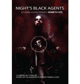 Pelgrane Press NIGHT'S BLACK AGENTS CORE BOOK