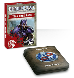 Games Workshop Blood Bowl: Dark Elf Team Cards