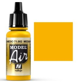 vallejo Model Air: Medium Yellow 17ml