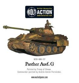 Warlord Games PANTHER AUSF G (METAL/RESIN)