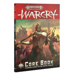 Games Workshop WARCRY: CORE BOOK (STREET DATE AUG 3)