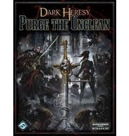 Fantasy Flight WARHAMMER 40K RPG: DARK HERESY - PURGE THE UNCLEAN