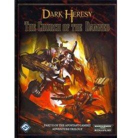 Fantasy Flight WARHAMMER 40K RPG: DARK HERESY - THE CHURCH OF THE DAMNED