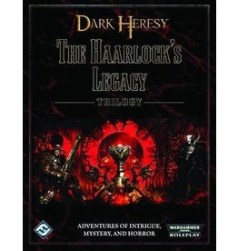 Fantasy Flight WARHAMMER 40K RPG: DARK HERESY - THE HAARLOCK'S LEGACY TRILOGY