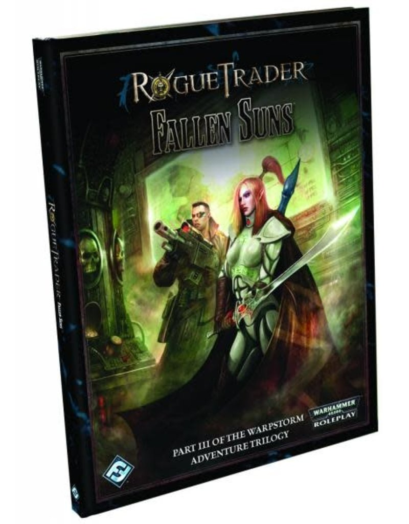 Fantasy Flight Games WARHAMMER 40K RPG: ROGUE TRADER - FALLEN SUNS