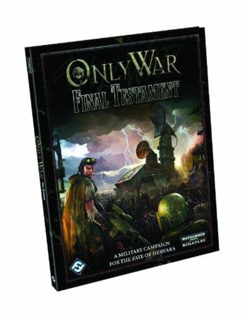 Fantasy Flight Games WARHAMMER 40K RPG: ONLY WAR - FINAL TESTAMENT