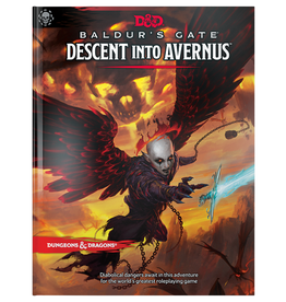 Wizards of the Coast D&D 5E: BALDUR'S GATE DESCENT INTO AVERNUS BOOK