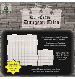 Roll 4 Initiative DUNGEON TILES: COMBO PACK 5-10'' 16-5'' SQUARES
