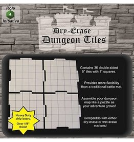 Roll 4 Initiative DUNGEON TILES DRY ERASE 36 X 5'' (WHITE)