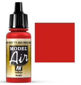 vallejo Model Air: Red RLM23 17ml
