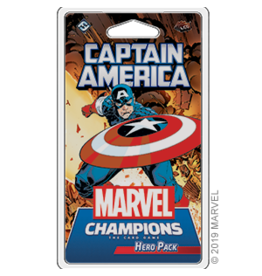 Fantasy Flight MARVEL CHAMPIONS LCG: CAPTAIN AMERICA HERO PACK