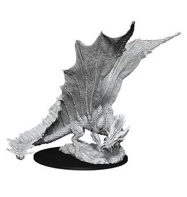 Wizkids UNPAINTED MINIS WAVE 11:  YOUNG GOLD DRAGON